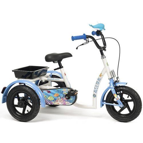 Dziewczęcy Rowerek Rehabilitacyjny Trójkołowy Vermeiren Aqua