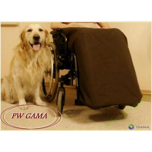 Pokrowiec, ocieplacz na nogi do wózka inwalidzkiego