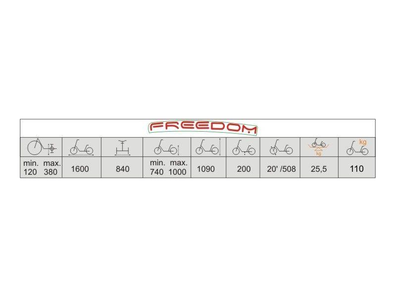 Rower Rehabilitacyjny Trójkołowy Vermeiren Freedom