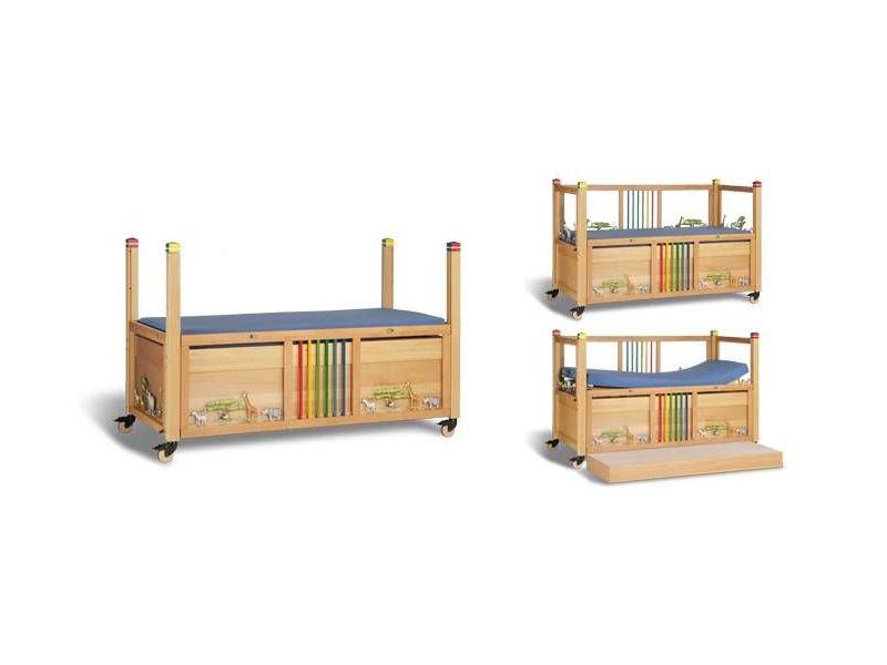Łóżko rehabilitacyjne dziecięce elektryczne ,,Timmy kolor'' używane