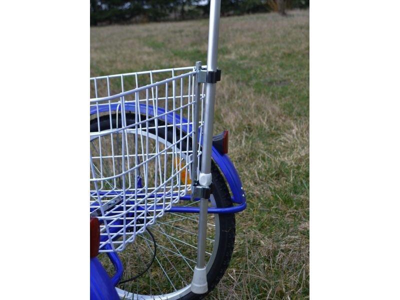 Uchwyt na kulę do roweru trójkołowego